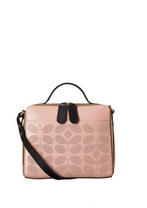 Orla Kiely Iris bag Dusty pink