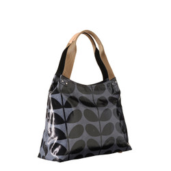 Orla Kiely Giant Stem Shoulder Bag Midnight Print