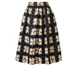 Orla Kiely Midi Length Gathered Skirt