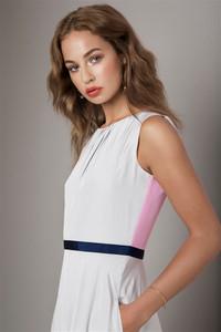 Irish Model Thalia Heffernan  wearing Fee G available from Anastasia Boutique Ranelagh