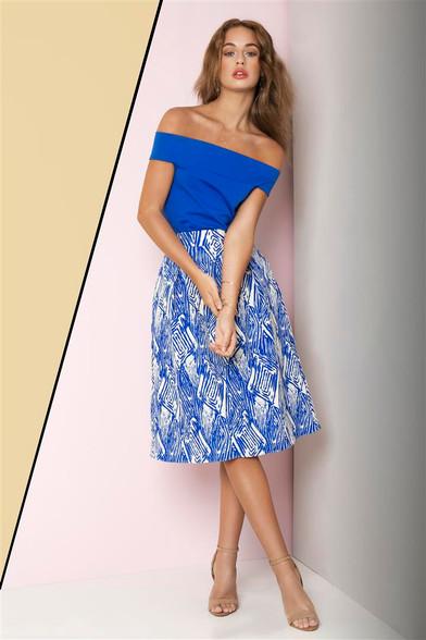 Fee g blue dress plus