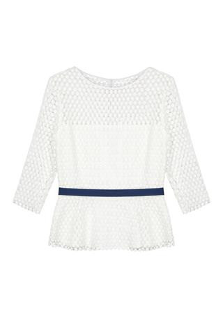 White Lace Fee G Top