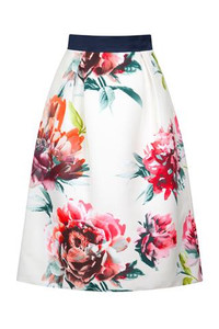 Fee G Skirt with Flowers