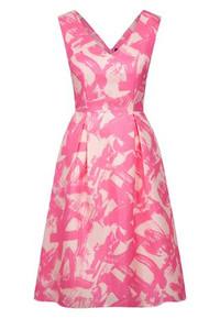 Fee G Pink V Neck Dress