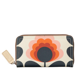 Orla Kiely Summer Flower Big Zip Wallet