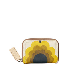 Orla Kiely Summer Flower Medium Zip Wallet