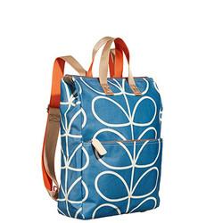 Blue Orla Kiely Backpack