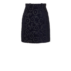 Orla Kiely Jacquard Navy Skirt