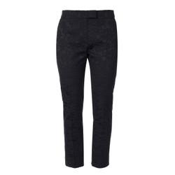 Orla Kiely Navy Jacquard Trousers