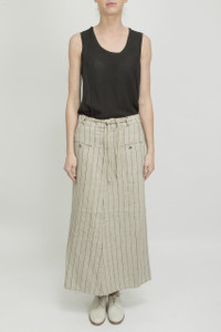 Transit par Such Stripe A-line Skirt