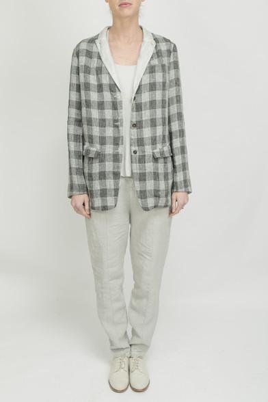 Transit Par Such Grey Check Jacket