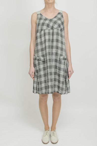 Transit Grey Check Dress