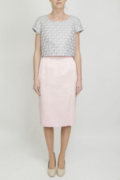 Aideen Bodkin Piri Two Fabric Dress