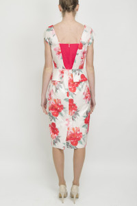 Aideen Bodkin Maca Floral Dress - Back