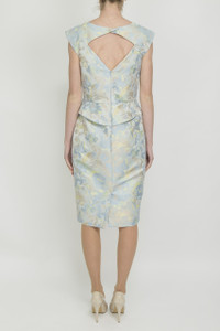 Aideen Bodkin Boldo Jaquard Dress - Back
