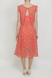 Dress by Aideen Bodkin Lace Jasmine Dress - Back
