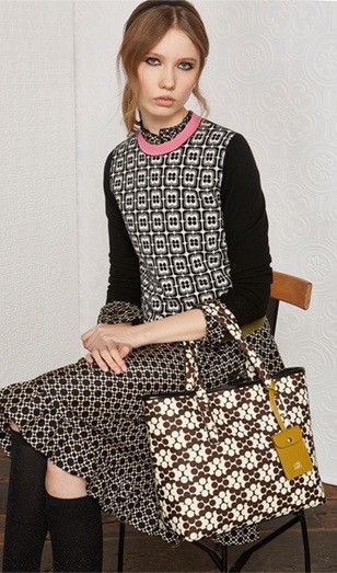 Orla Kiely Flower Jacquard Sweater