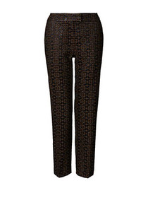 Orla Kiely Flower Jaquard Check Trousers