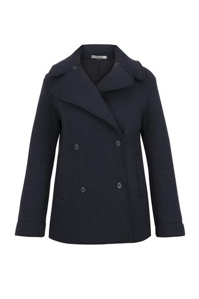 Transit Par Such Navy Wool Jacket