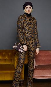Orla Kiely Jaquard Trousers