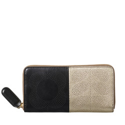 Big Zip Wallet Black
