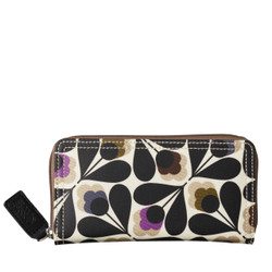 Orla Kiely Big Zip Wallet Multi