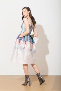 Caroline Kilkenny Elle Dress Bronze