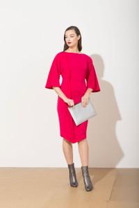 Caroline Kilkenny Gizelle Dress Pink