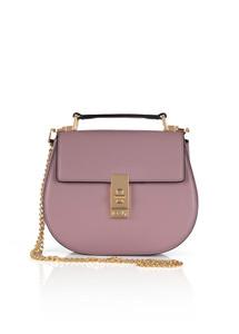 Fee G Pink Leather Handbag
