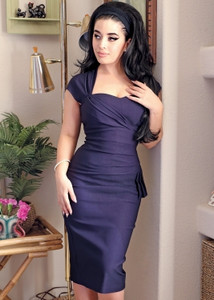 Stop Staring Umfad Navy Dress