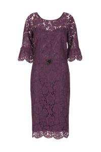 Aideen Bodkin Lamour Lace Dress Purple