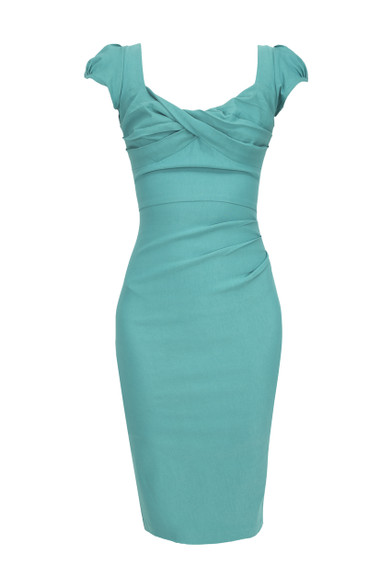 Stop Staring Green Dress