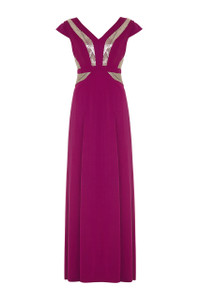Almost Famous Beaded Maxi Dress