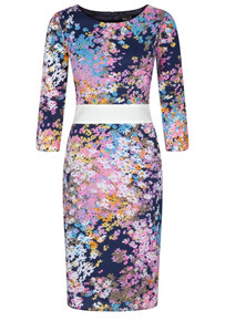 Fee G Flower Print Dress