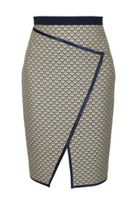 Fee G Piping detailed Skirt.