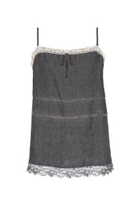 Twin-set Simona Barbieri Woven Top Grey