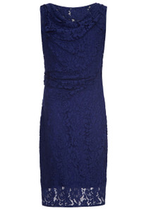 Almost Famous Blue Lace Dress