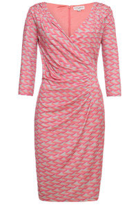 Almost Famous Asymmetrical Dress Pink