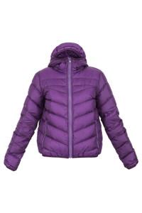 Sportmax Code Fado Quilted Jacket Purple
