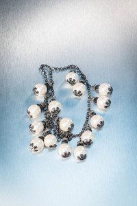 Pat Whyte Antique Chain with Pearls