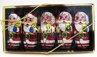"2 1/2 oz. ""Santas"" 5 - piece gift box"