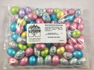 "SOLID MILK CHOCOLATE EGGS ""Per Pound"""