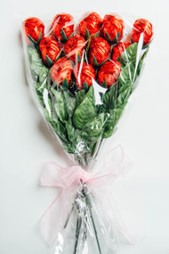 12 Milk chocolate roses  What's better than getting roses?  Roses you can eat that's what's  better  Color bow My vary