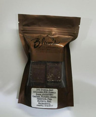 Blum's 70% Organic Dark Chocolate w/Cashew, Pumpkin seeds, Hazelnuts,Figs, Mulberry, Goji, Goldenberry