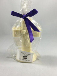 Vermont Nut Free 3D White Chocolate Cross