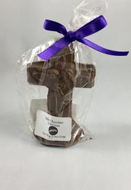 Vermont Nut Free Milk Chocolate 3D Cross