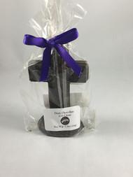Vermont Nut Free 3D Dark Chocolate Cross