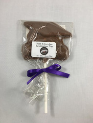 Vermont Nut Free Milk Chocolate Graduation Pop