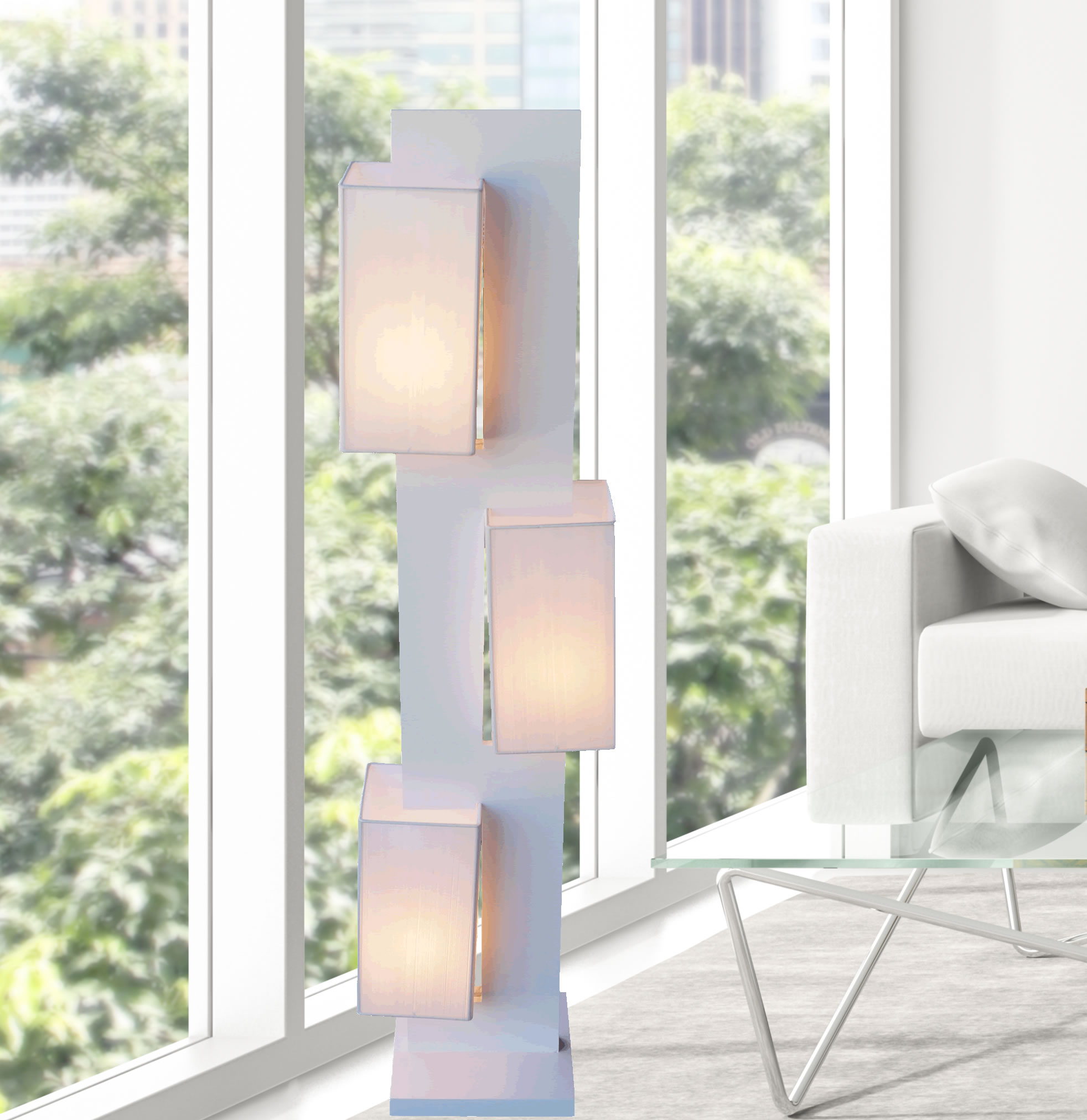 floor lamp zk002l contemporary modern home decor lighting fixtures stylish elegant design - Home Decorating Modern