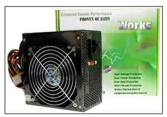 Works P4-360w ATX Power Supply W365CN4